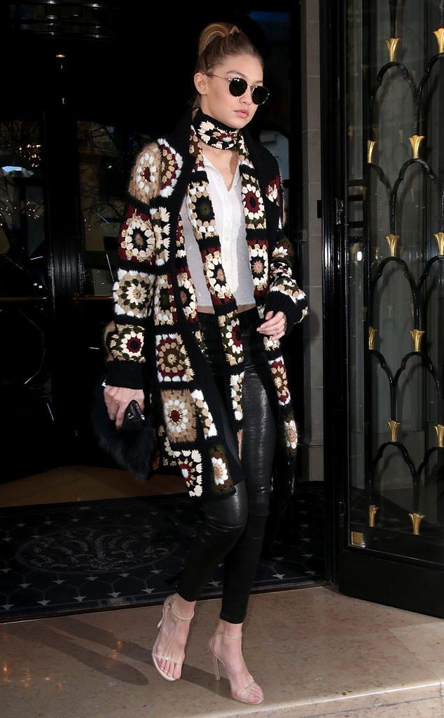 High fashion crochet in Paris.