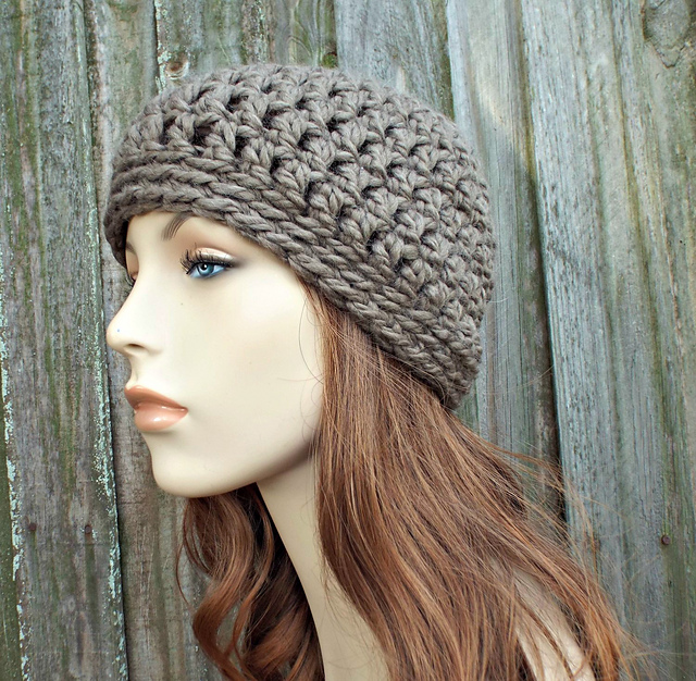 Basic crochet beanie pattern