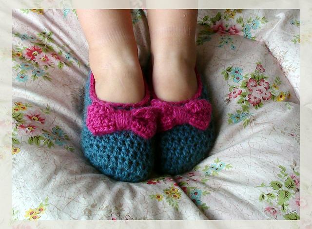 Crocheted slipper patterns