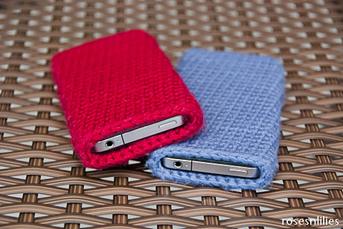 Laptop or phone sleeve crochet pattern
