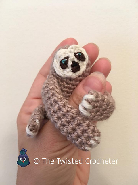 amigurumi crochet sloth pattern