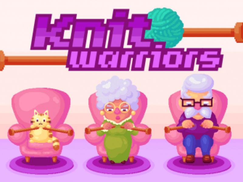 Knitting video game