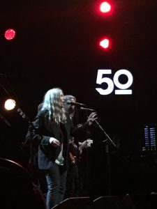 Watching Patti Smith at the Montreaux Jazz festival