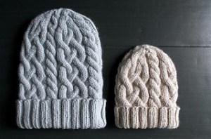 Purl Soho beanie Knitting pattern