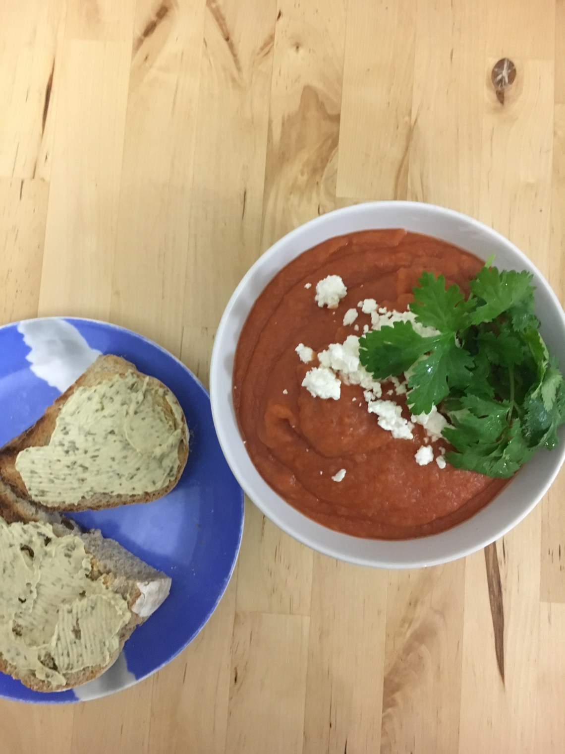 Homemade beetroot soup in a pressure cooker, perfect for soup weather.