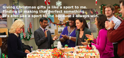 Leslie Knope is known for her over-the-top gifts
