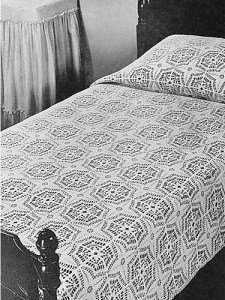 Old time crochet blanket pattern
