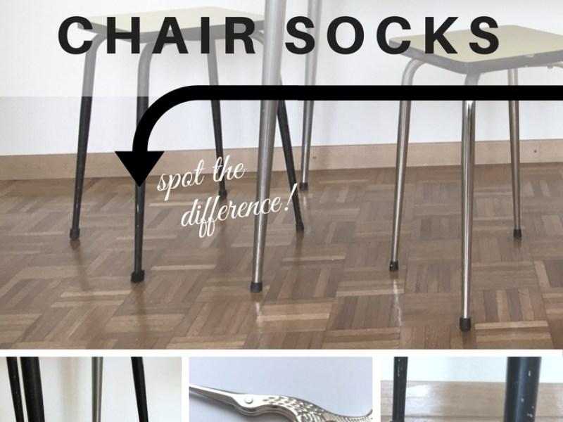 The Simplest DIY Crochet Chair Socks Recipe - amiguru.me
