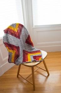 Be born granny square blanket pattern