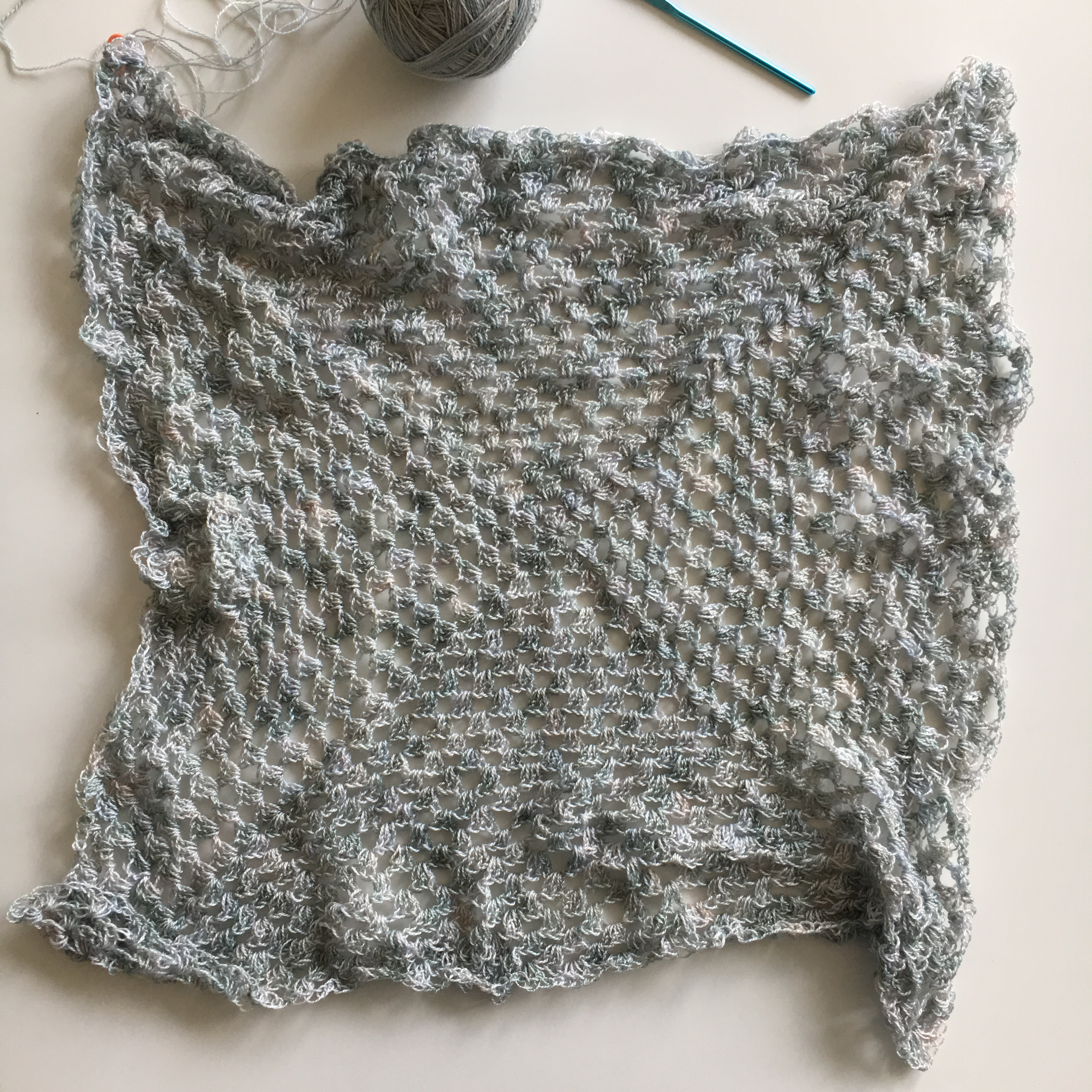 A giant granny square work in progress