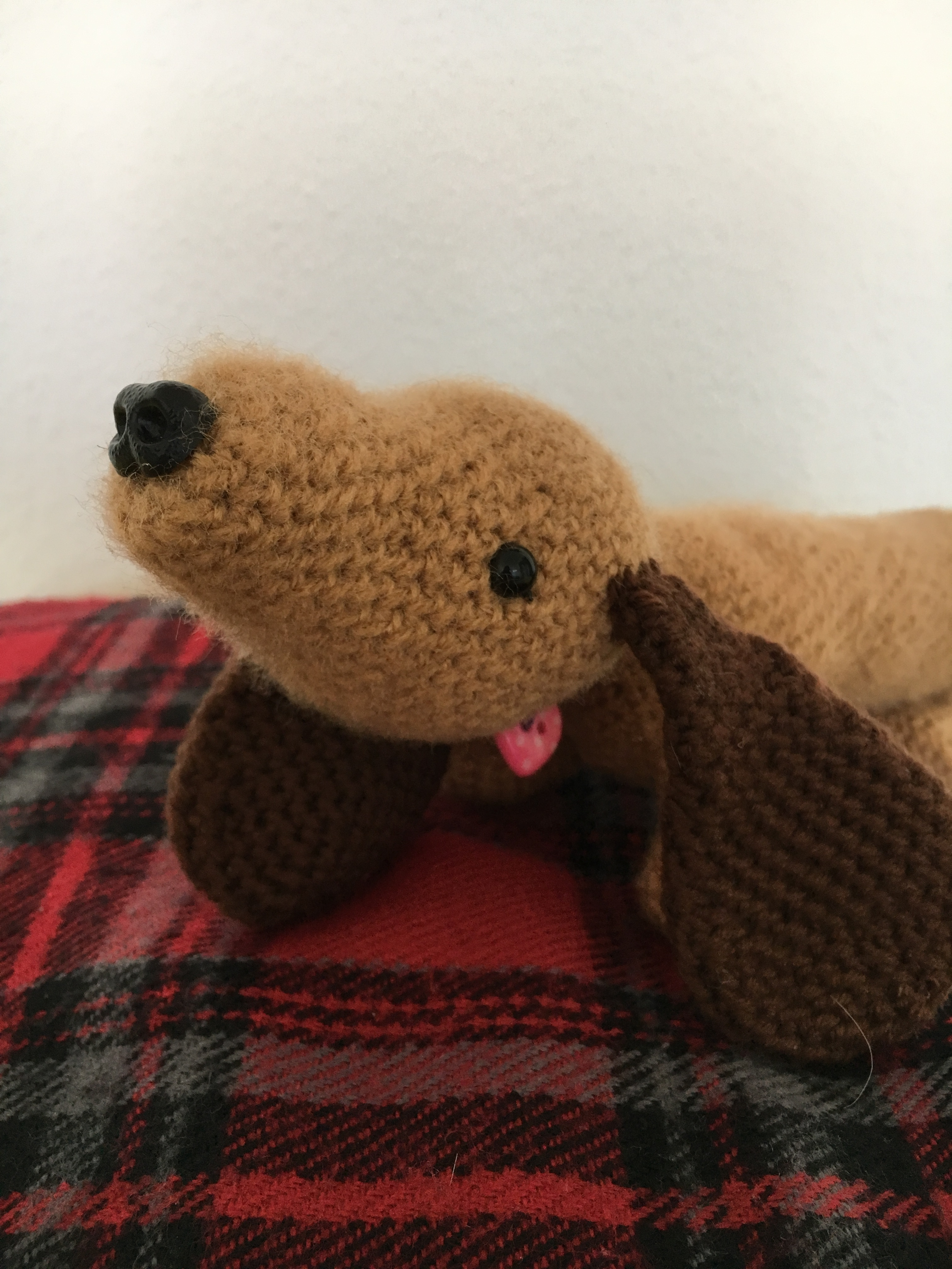Amigurumi Sausage Dog (Just Add Mustard!)