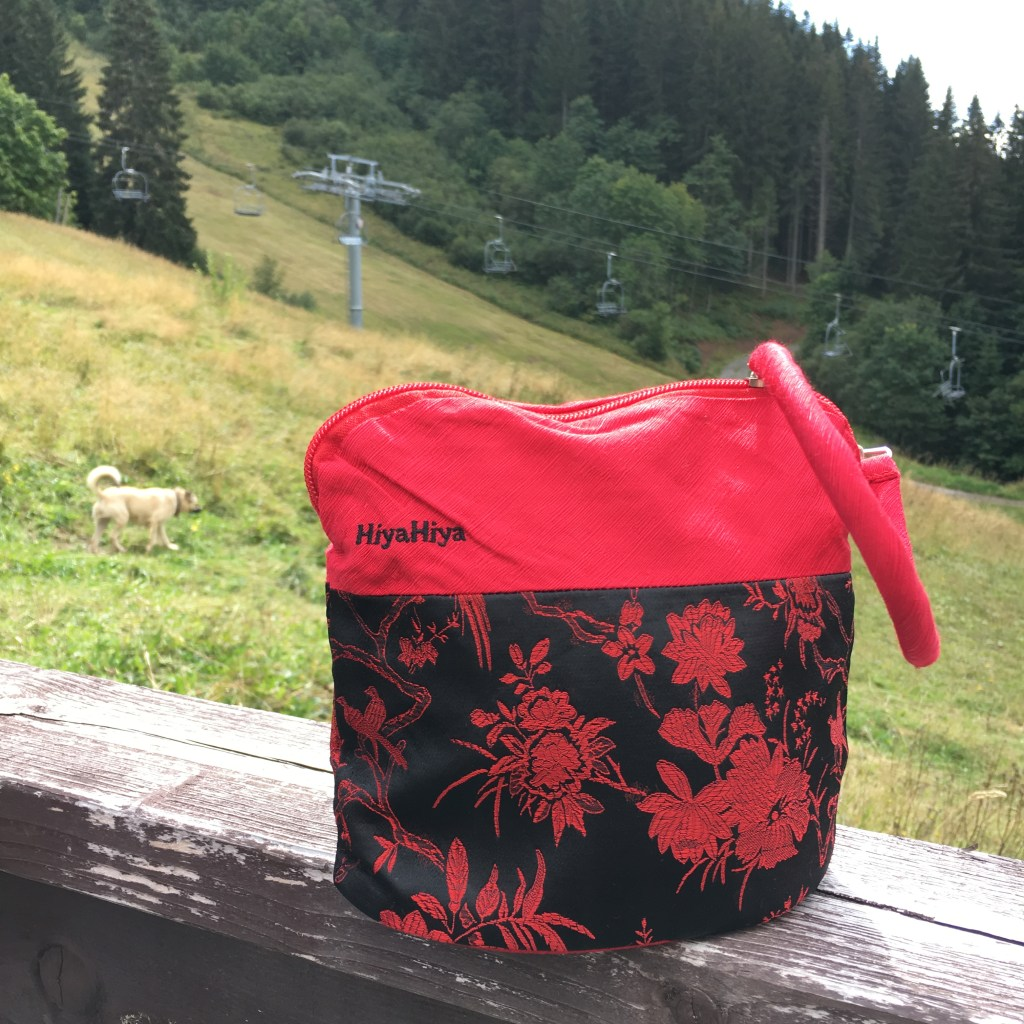 HiyaHiya project bag in the wild