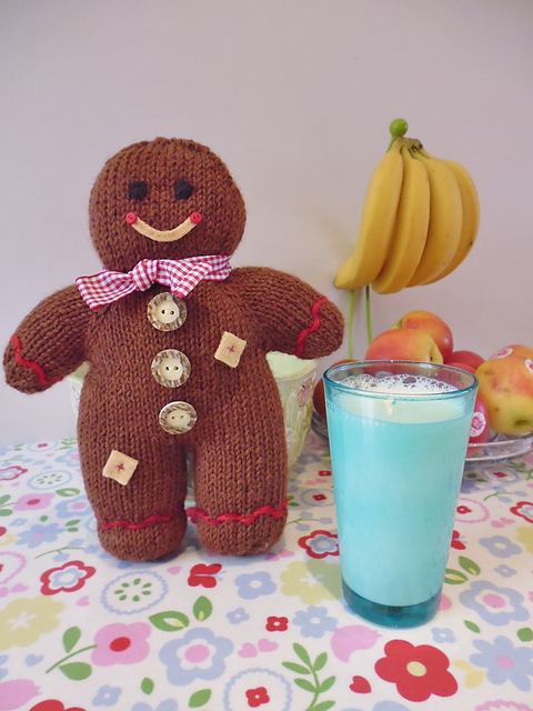 Knitted Gingerbread Boy