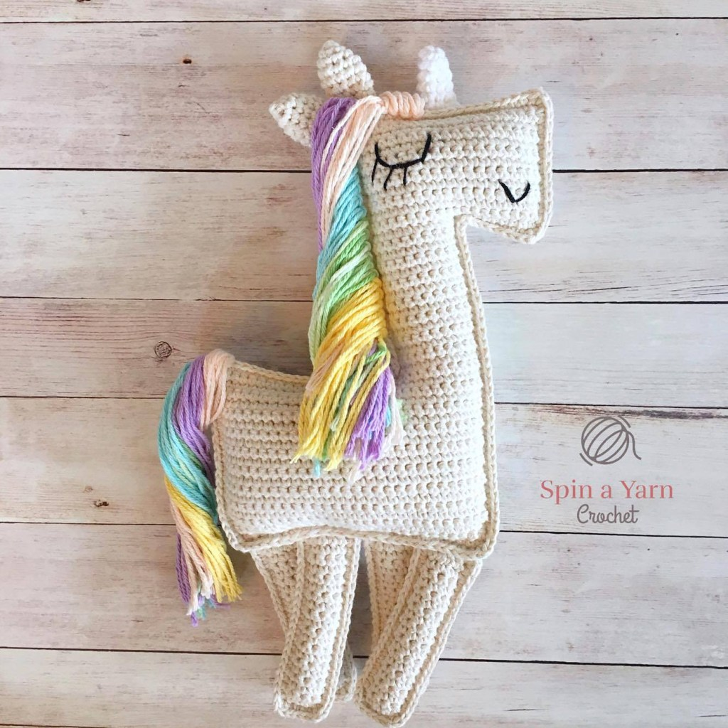 Ragdoll unicorn crochet pattern