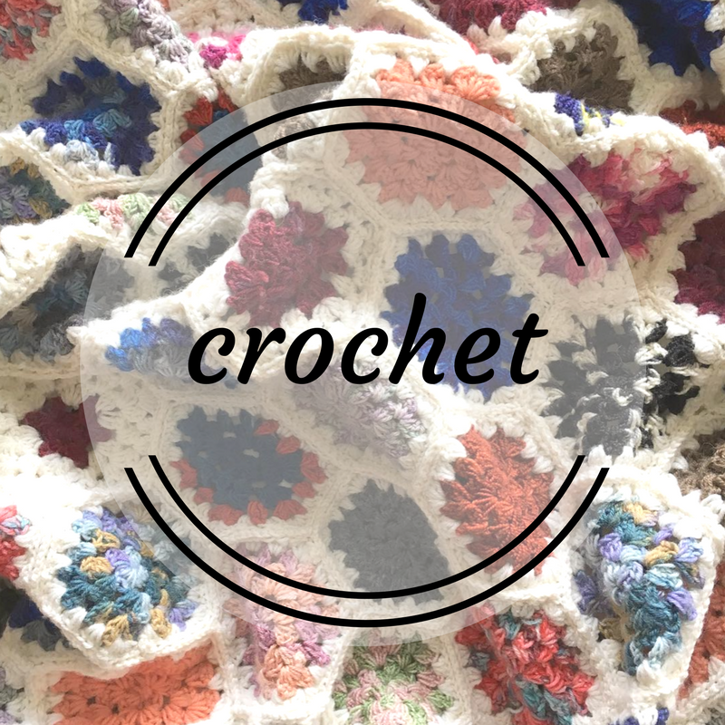 Crochet granny square blankets and more