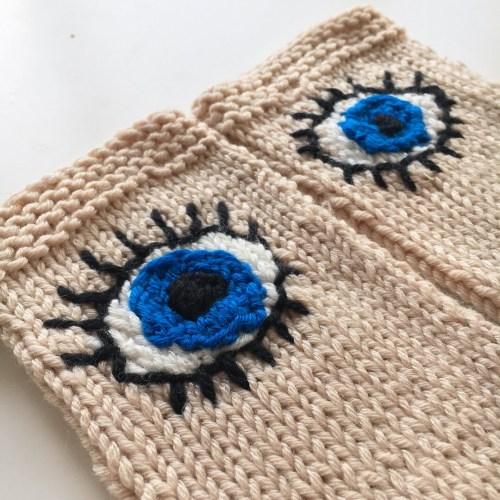 Evil Eye Gloves for March for our Lives