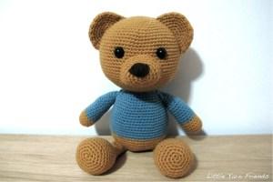 Classic Teddy Bear amigurumi pattern
