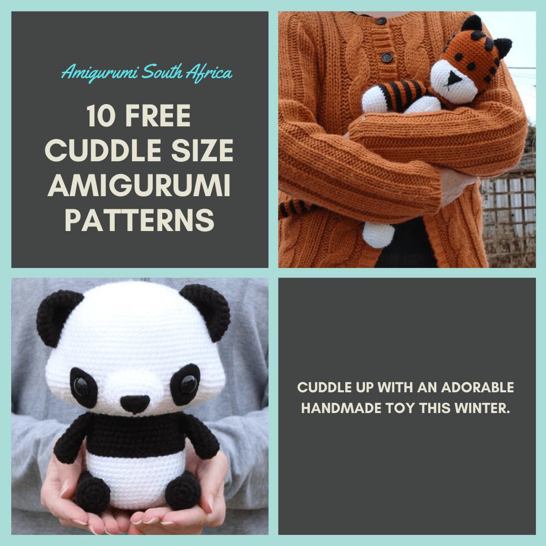10 Free Cuddle Size Amigurumi Patterns