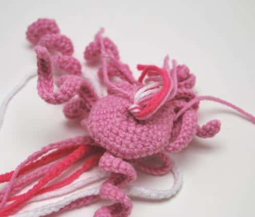 Happy jellyfish amigurumi free crochet tutorial