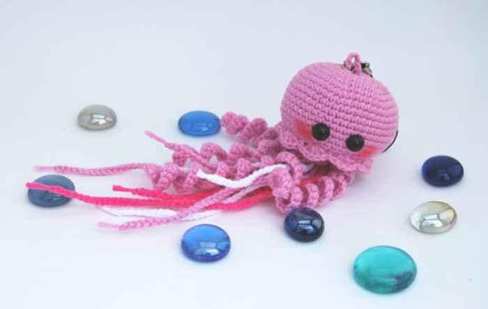 Onigiri Amigurumi Pattern Free : Happy jellyfish amigurumi pattern - Amigurumi Today