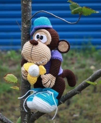 monkey crochet pattern monkey free amigurumi crochet pattern