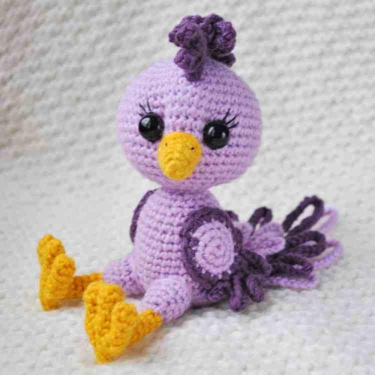 Amigurumi Parrot Pattern : Amigurumi doll in butterfly costume - Amigurumi Today