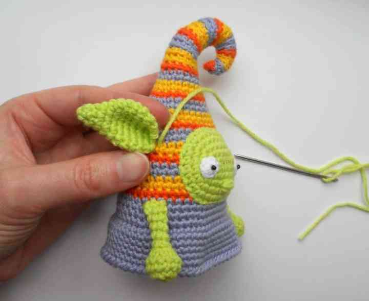 Crochet elf doll amigurumi pattern tutorial
