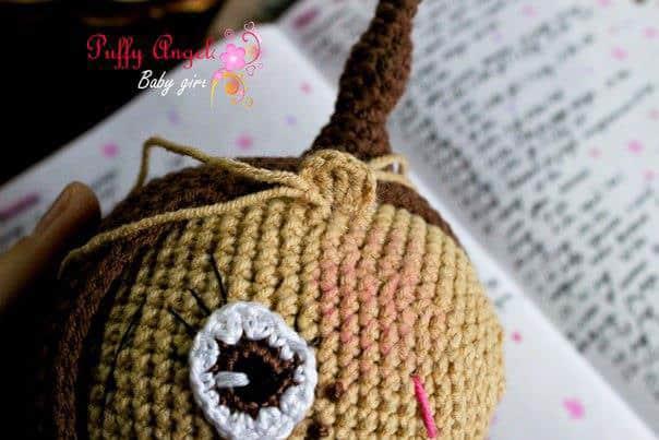 Doc McStuffins crochet pattern - ears