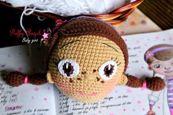 Doc McStuffins doll crochet pattern tutorial