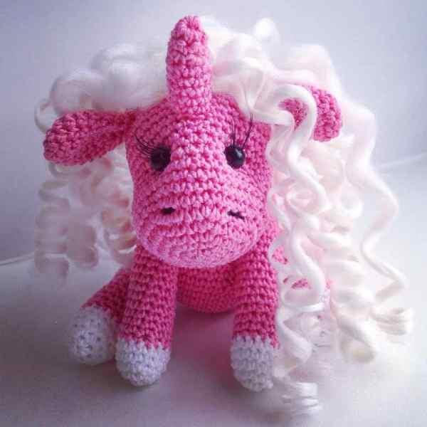 Baby unicorn amigurumi pattern free