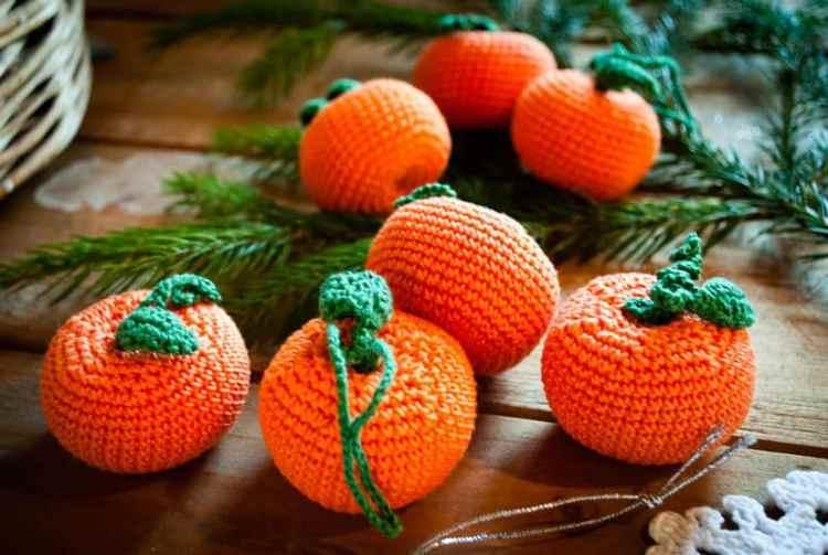 Christmas tangerine crochet pattern