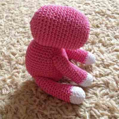 Crochet baby unicorn amigurumi pattern