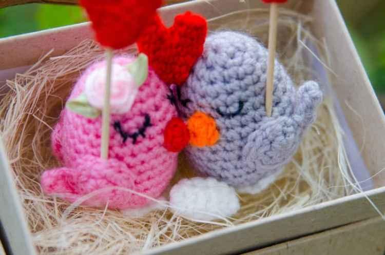 Crochet birds free amigurumi pattern