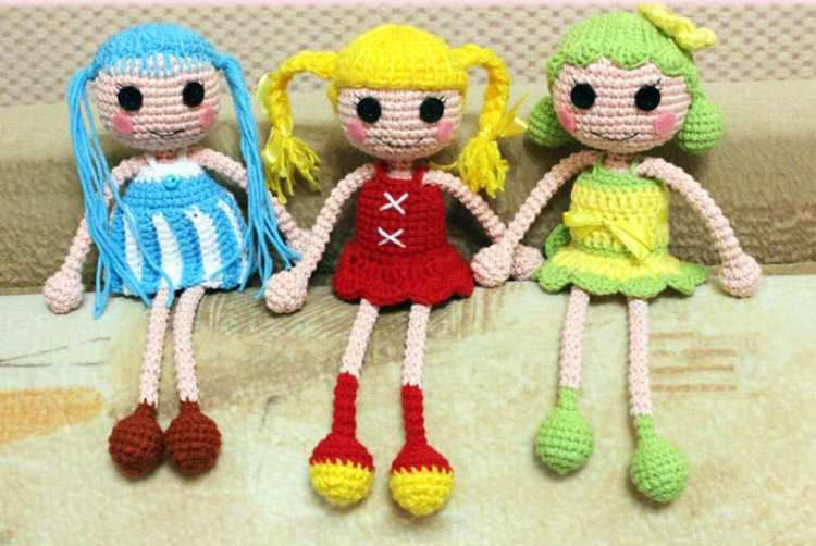 Amigurumi Arms And Legs : Lalaloopsy doll amigurumi pattern - Amigurumi Today
