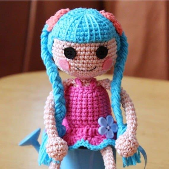 Lalaloopsy doll free amigurumi pattern