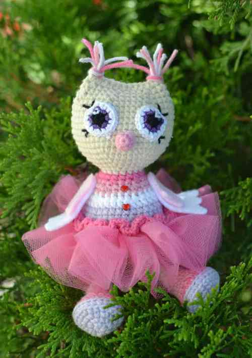 Owl princess amigurumi pattern