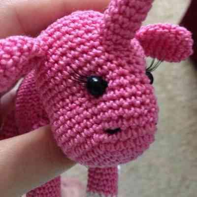 Unicorn amigurumi pattern assembly