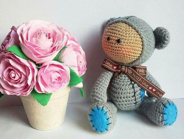Amigurumi baby dolls - free crochet pattern
