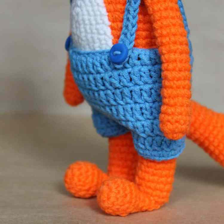 Amigurumi fox crochet pattern