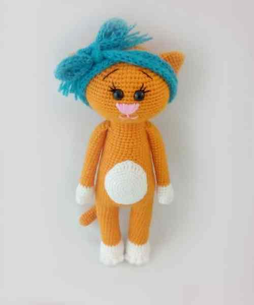 Amigurumi free crochet cat patterns