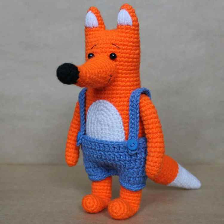 Amigurumi Mr Fox crochet pattern