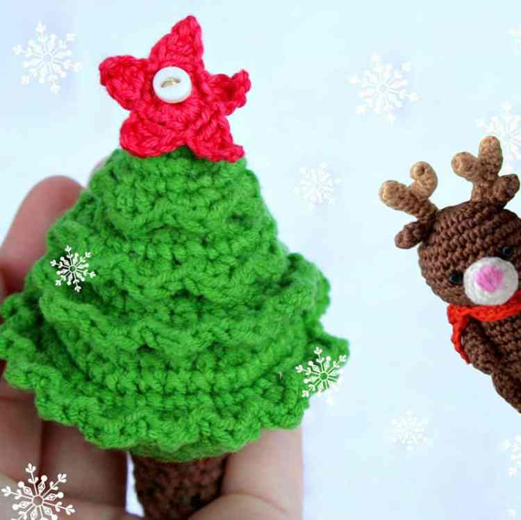 Christmas tree crochet pattern - free