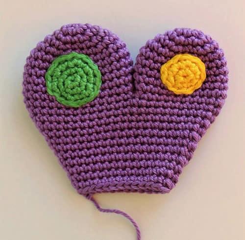 Crochet butterfly baby rattle amigurumi