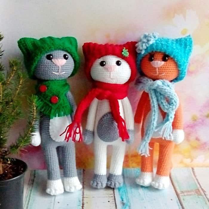 Amigurumi Today Free Patterns : Large Ami Cat crochet pattern - Amigurumi Today