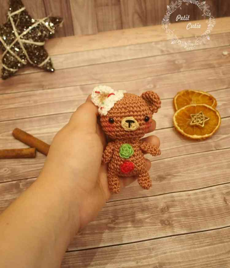 Gingerbread teddy crochet patterns