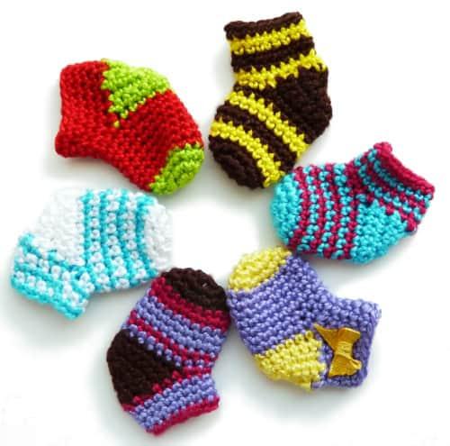 How to crochet Christmas sock - free crochet pattern