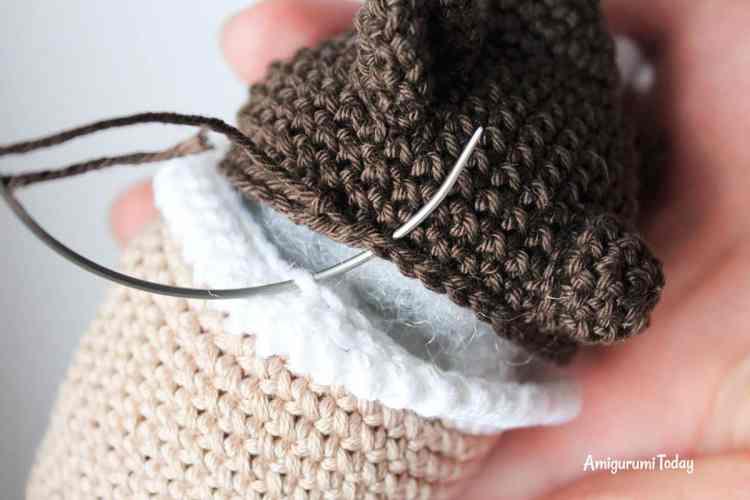 Creamy choco bear crochet pattern
