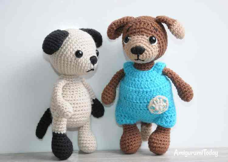 Amigurumi dogs - free crochet patterns