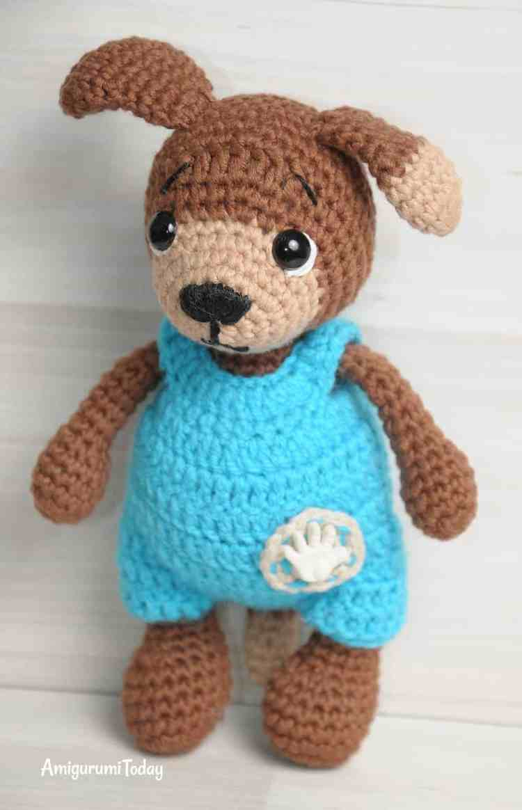 Timmy the Dog - FREE Amigurumi Pattern