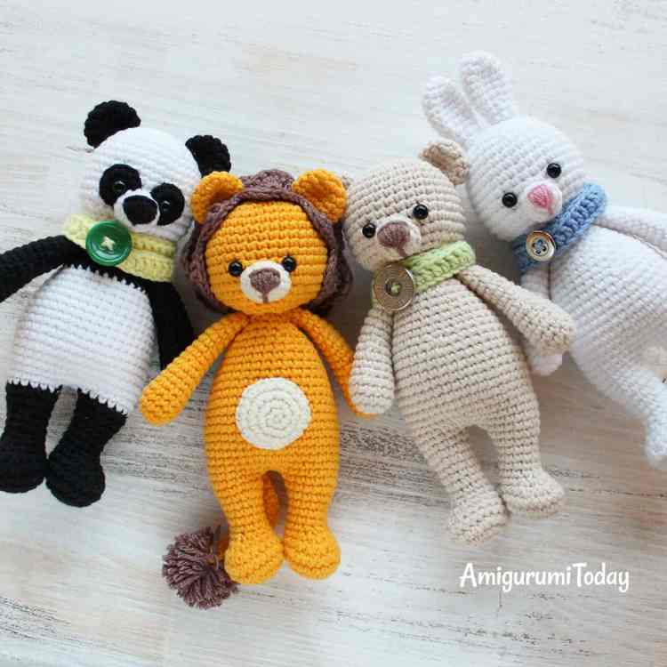Cuddle Me Series by Amigurumi Today